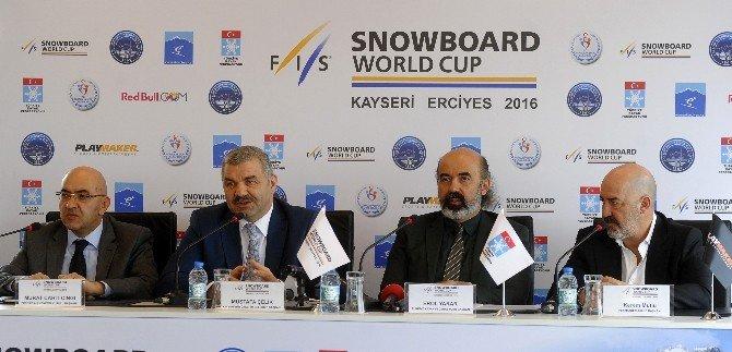Dünyanın En İyi Snowboard Sporcuları Erciyes'te Yarışacak