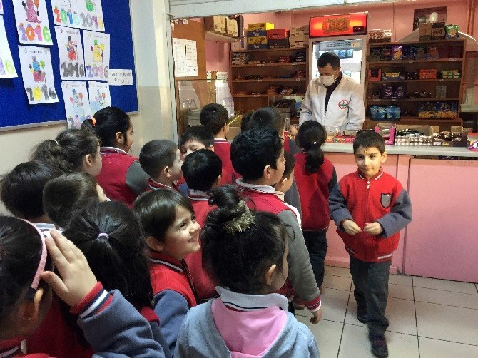 Üsküdar'da Okul Kantinlerine Denetim