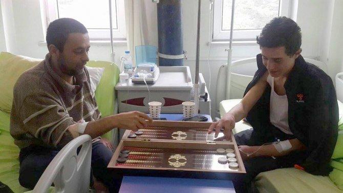 Yozgat ve ilçe hastaneleri oluşturulan sosyal alanlarla göz dolduruyor