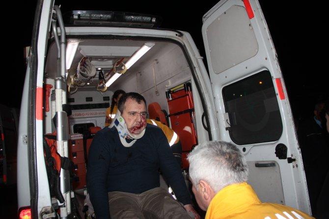 Müdahaleye giden polis aracı kaza yaptı: 3'ü polis 6 yaralı