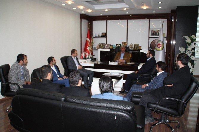 Genç ASKON'dan, Başkan Uslu'ya Ziyaret
