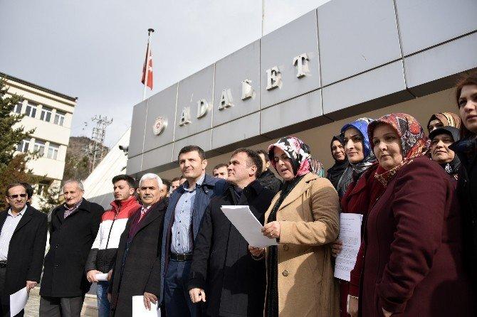 AK Parti Gümüşhane Kadın Ve Gençlik Kolları'ndan Kılıçdaroğlu'na Suç Duyurusu