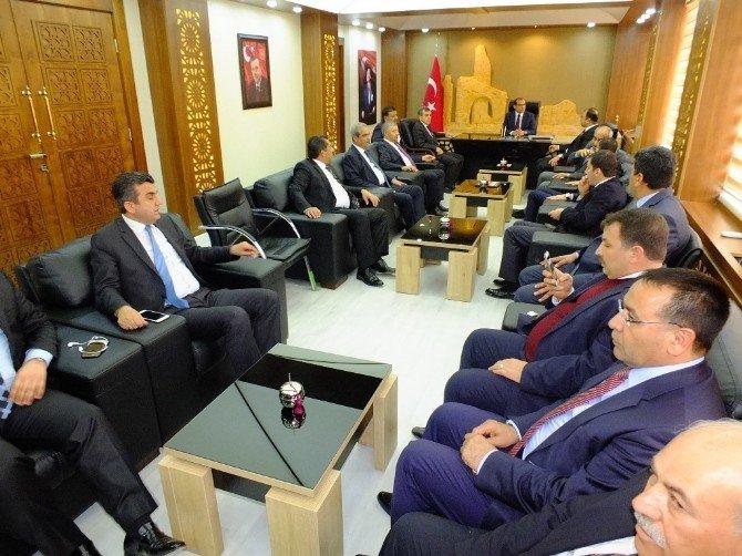 AK Partili Belediye Başkanları Harran'da Toplandı