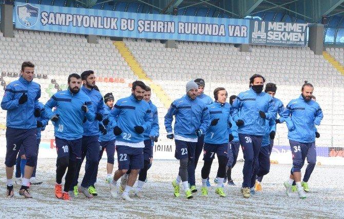 """Bb Erzurumspor Teknik Direktör Yıldırım: """"Rakip Kim Olursa Olsun Kazanacağız"""""""