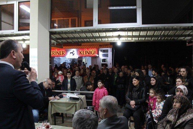 'Çaylar Başkandan' Toplantıları Sürüyor