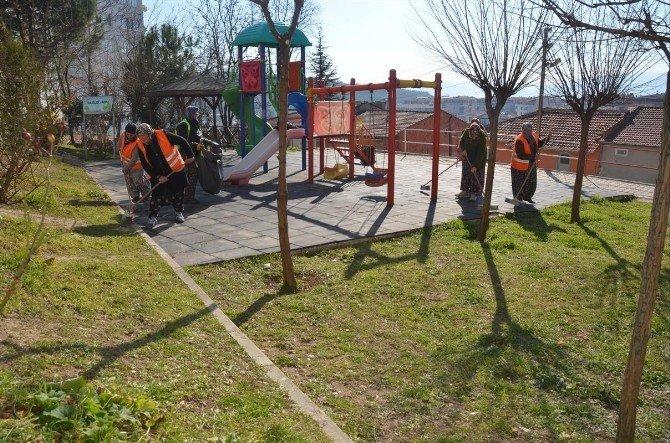 Park Ve Bahçeler Müdürlüğü Çalışmaları Devam Ediyor