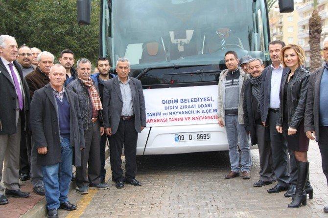 Didimli Üreticilerden İzmir'e Fuar Çıkartması