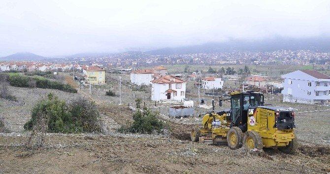 Döşemealtı Belediyesi Yol Açma Çalışmaları