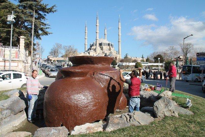 Edirne Belediyesi Bahara Hazırlıkları Başladı