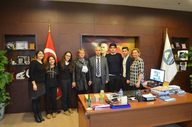 """Söke Anadolu Koleji """"Dostluk"""" Treniyle Söke'nin Tanıtımına Katkı Sağlayacak"""
