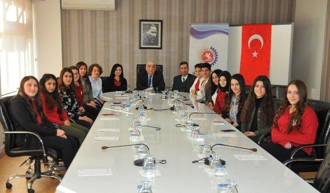Öğrencilerden Samsun TSO'ya Ziyaret