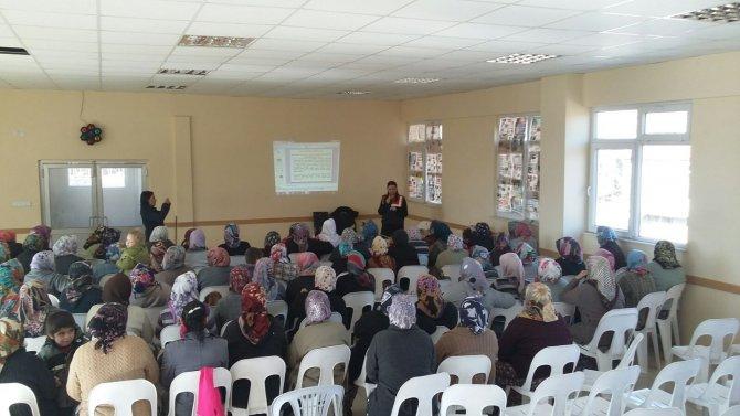 Jandarmadan kadına şiddet semineri
