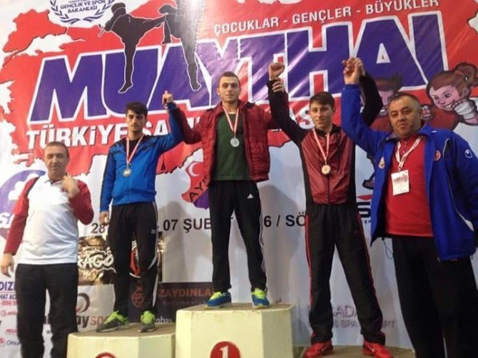 Kayseri, Muay Thai Türkiye Şampiyonasına Damga Vurdu