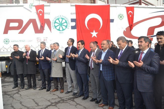 Bayırbucak Türkmenlerine 30 Ton Şeker Yardımı