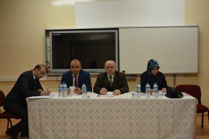 Ortaokul Müdürleriyle Genel Değerlendirme Toplantısı Yapıldı
