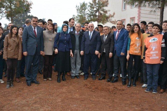 Yeşil Okulla Yeşil Kilis, Okulları Ağaçlandırma Projesi