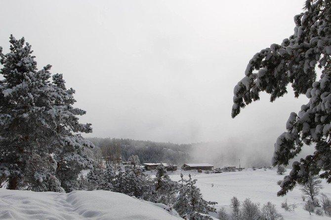 Coreker Yaylasında Kış Başka Güzel