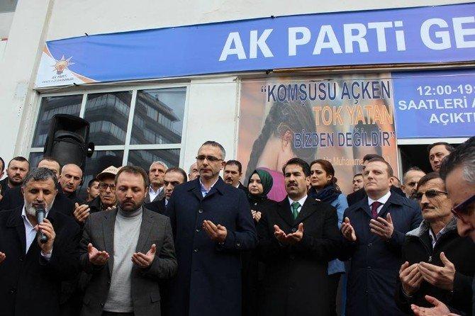 Gebze AK Partiler'den Bayırbucak Türkmenlerine Yardım