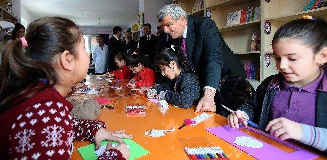 Başkan Karaosmanoğlu, Öğrencilerle Buluştu