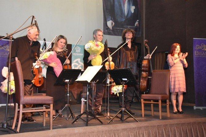 Bisanthe Oda Müziği Festivali'nde Bozok Quartet'tan Müzik Ziyafeti