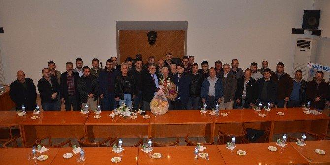 Ereğli'de Yeni Hal İçin Toplantı Yapıldı