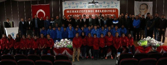 Başkan Subaşıoğlu'ndan Amatör Spor Kulüplerine Malzeme Desteği