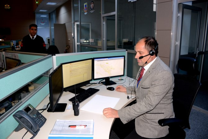 Muğla Emniyet Müdürlüğü, 112 merkezinde çağrı almaya başladı