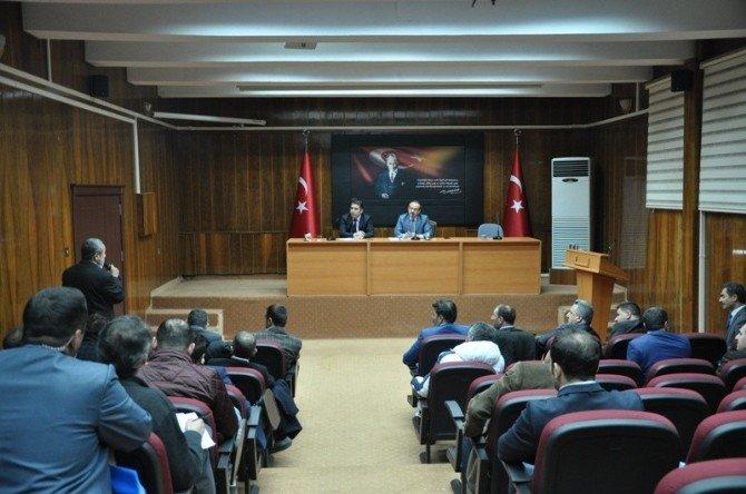 Vali Yavuz Esnafın Sorununu Dinledi