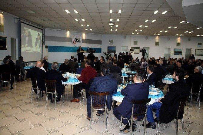 Kosb Başkanı Tahir Nursaçan 15 Sektörün Temsilcileri İle Bir Araya Geldi