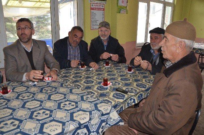 Başkan Güler Kapıkaya'da Vatandaşlarla Buluştu