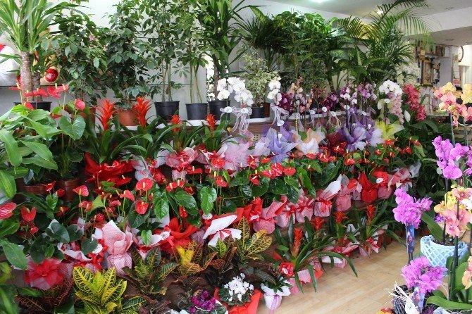 Çiçekçilerde 14 Şubat Yoğunluğu