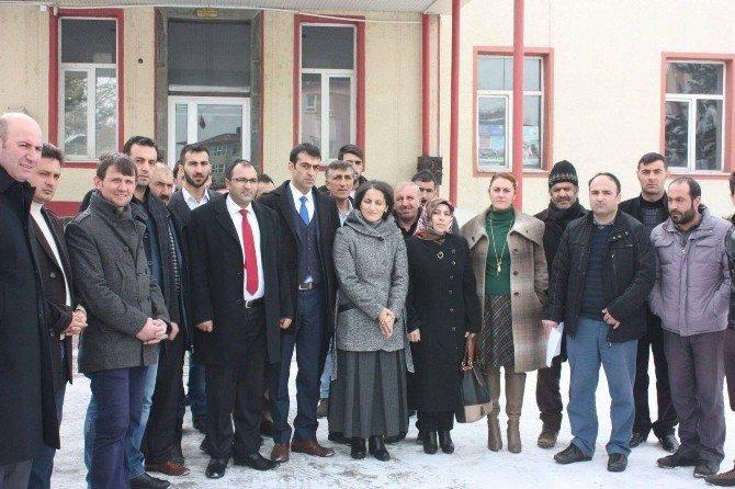 AK Parti Aşkale Teşkilatından Kılıçdaroğlu Hakkında Suç Duyurusu