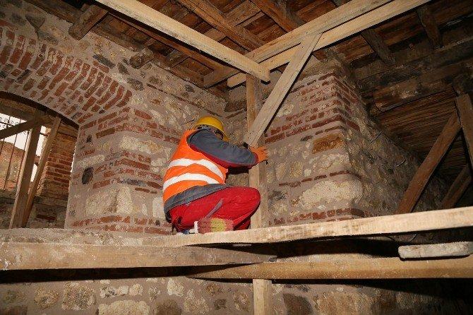 Kent Kültür Evi Restorasyon Çalışmaları Devam Ediyor