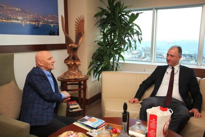 Özkan Mutlugil, Başkan Öz'ü ziyaret etti