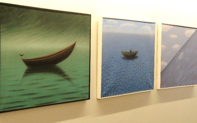 Uluslararası Grafik Sanatçısı Gürbüz Doğan Ekşioğlu'nun Yeni Sergisi İTÜ Rsg'de Açıldı