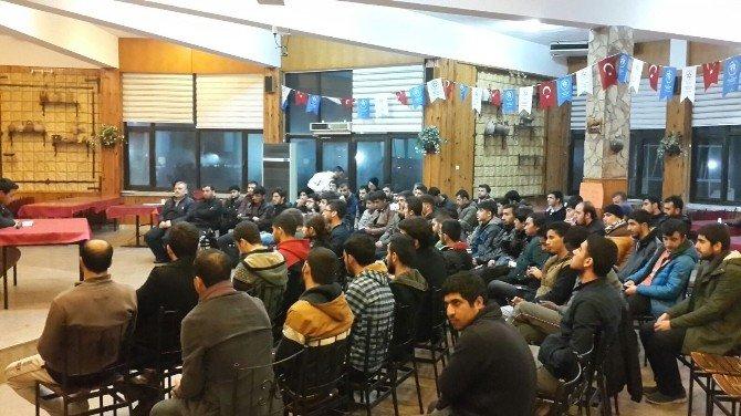 Uluslar Arası Öğrencilerin Mersin Kampı Başladı