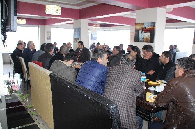 Varto Kaymakamı Çetin Esnafların Sorunlarını Masaya Yatırdı