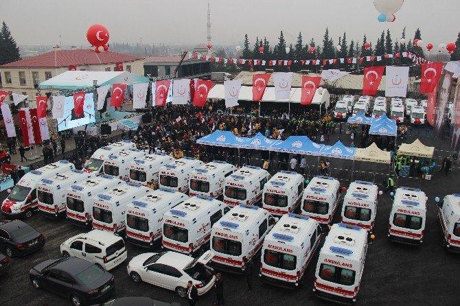 Bakan Müezzinoğlu Kahramanmaraş'ta