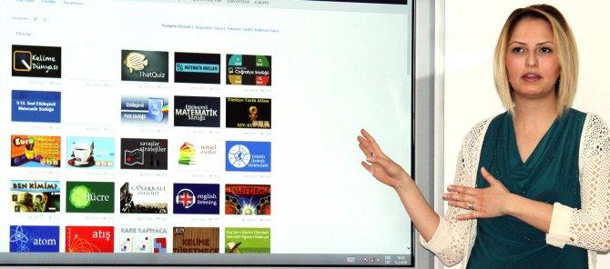 Yozgat Milli Eğitim Müdürü, gazetecilere EBA'yı tanıttı