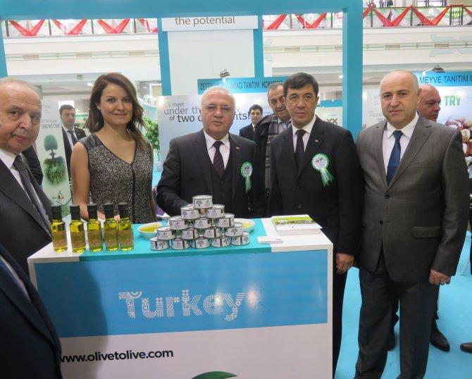 Türk zeytin ve zeytinyağı Türkmenistan yolcusu