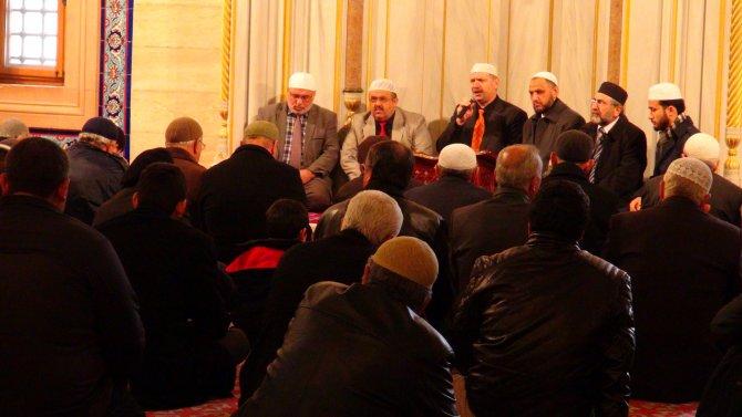 Sabancı Merkez Camii'nde şehitler için Mevlid-i şerif okutuldu