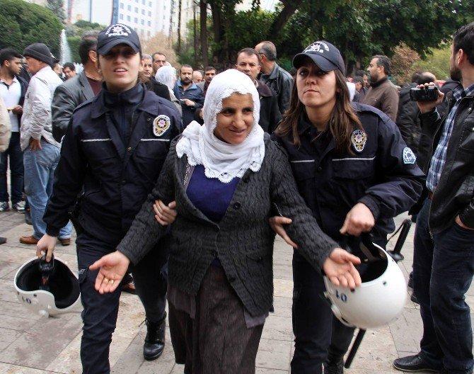Üzerinde Kimliği Olmayan Eylemcilere Gözaltı