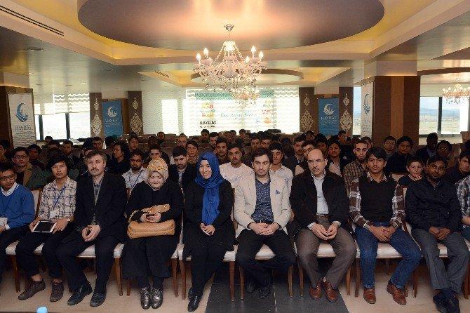 AK Parti İl Başkanı Yurdunuseven Öğrencilerle Buluştu
