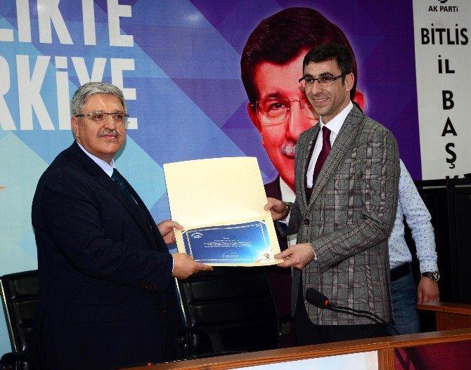 AK Parti Genel Başkan Yardımcısı Demiröz'ün Bitlis Ziyareti