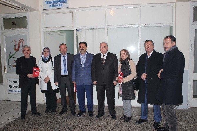 AK Parti Heyetinden Solgun'a Ziyaret