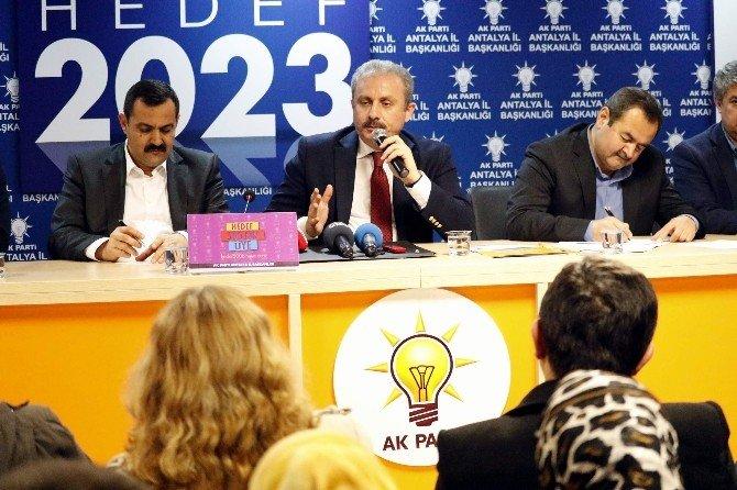 Şentop: Başkanlık Sistemi Olursa CHP'nin, MHP'nin, HDP'nin Hükümet Olma İhtimali Kalmıyor