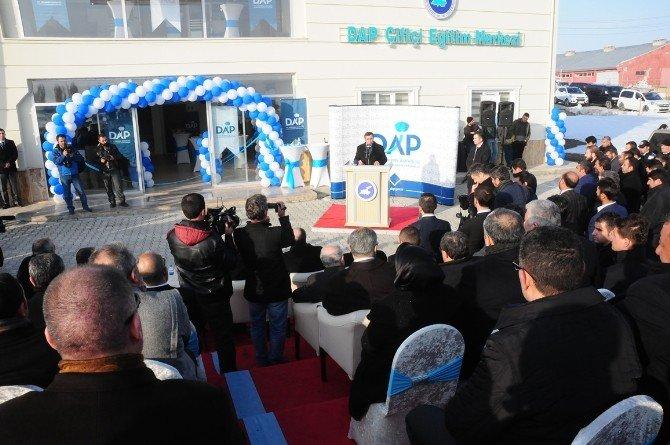 Bakan Yılmaz, DAP Çiftçi Eğitim Merkezi'nin Açılışını Yaptı