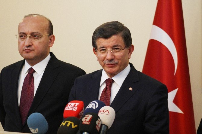 """Başbakan Davutoğlu: """"Angajman Kuralları Gereği Hedefler Vuruldu"""""""