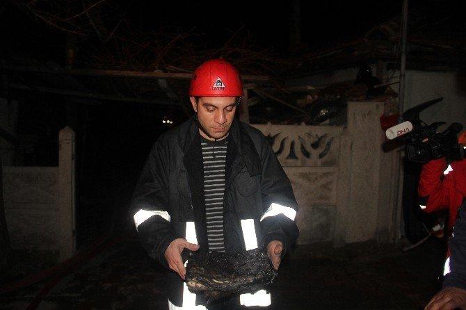 Alkollü Vatandaş Ağzında Sigarayla Uyuya Kalınca Yangın Çıktı