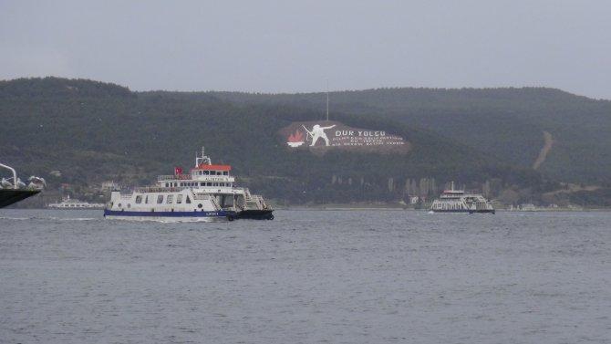 Gökçeada ve Bozcaada feribot seferleri iptal edildi